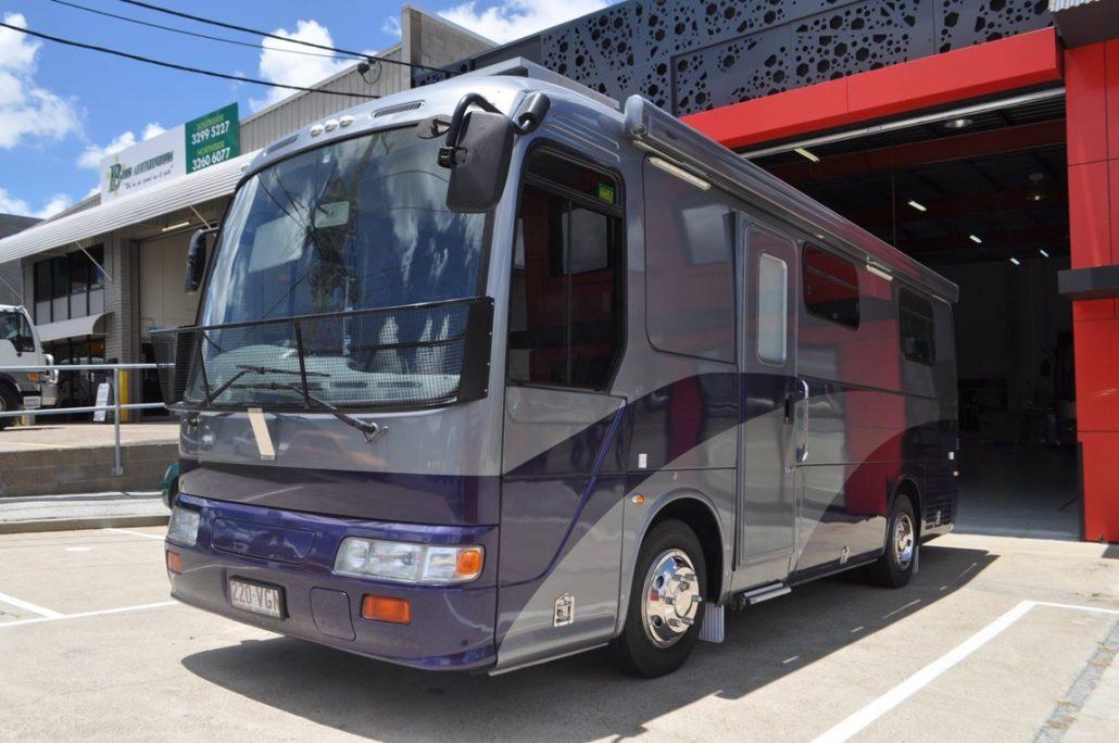 Hino Liesse Motorhome For Sale In Brisbane Sun Power