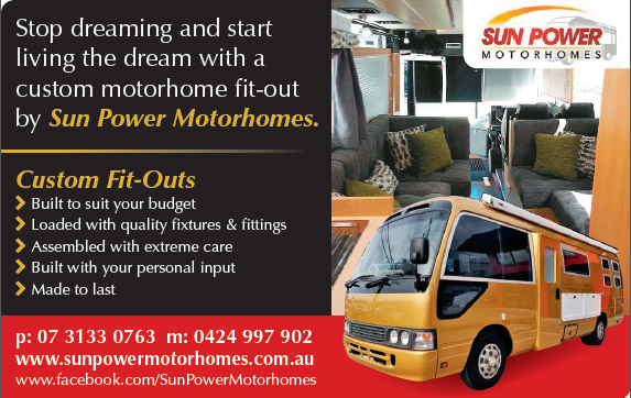 Motorhome Builders Brisbane O Camper Van Conversions Sun Power