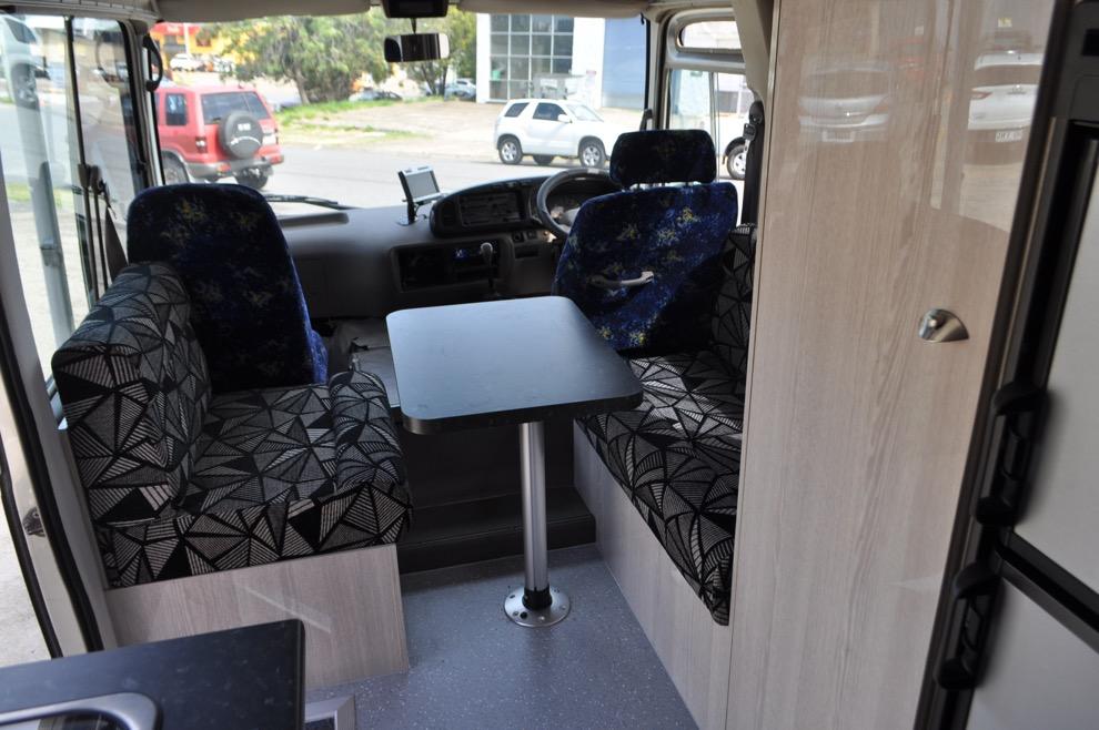 Australian Toyota Coaster Motorhome Sun Power Motorhomes