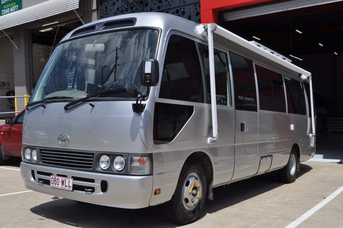 Motorhomes For Sale By Owner >> Australian Toyota Coaster Motorhome | Sun Power Motorhomes