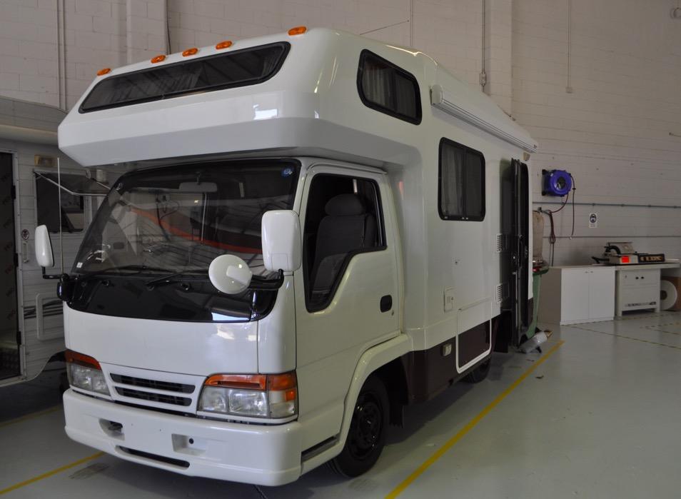 Motorhome Builders Brisbane • Camper Van Conversions ⚡ Sun Power