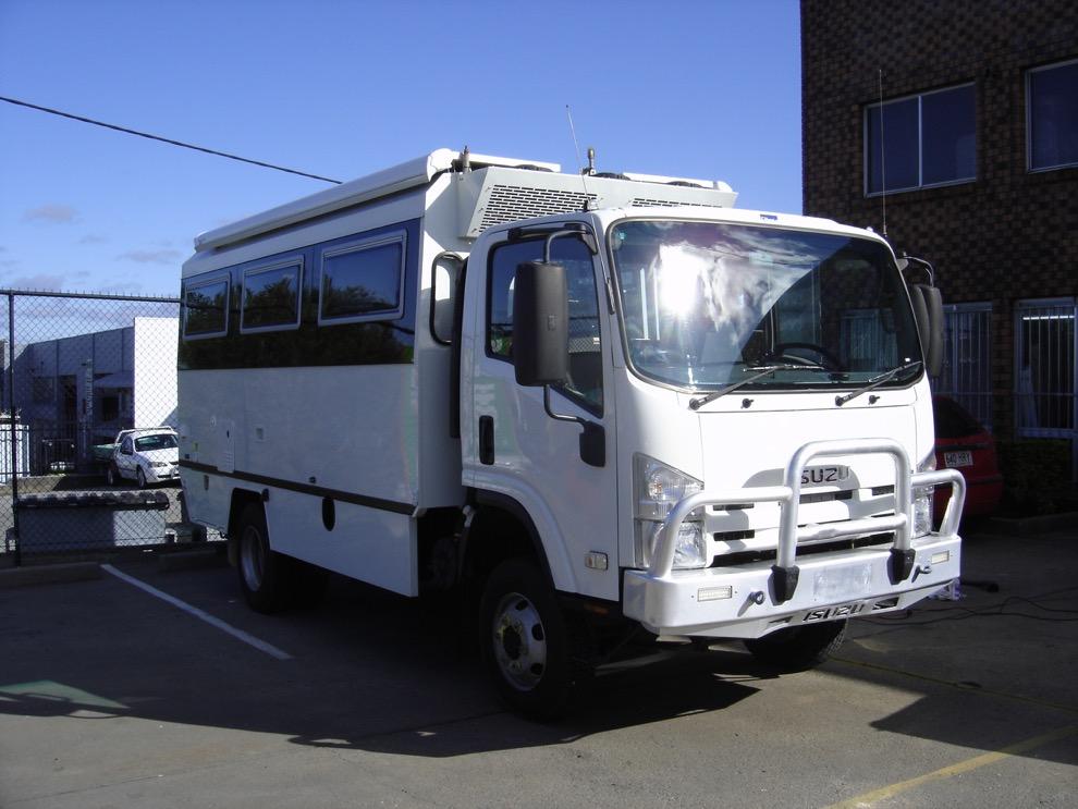 Camper Van and Motorhome Builders Brisbane ⚡ Sun Power