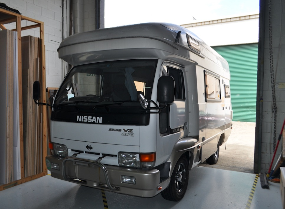 Camper Van and Motorhome Builders Brisbane ⚡ Sun Power